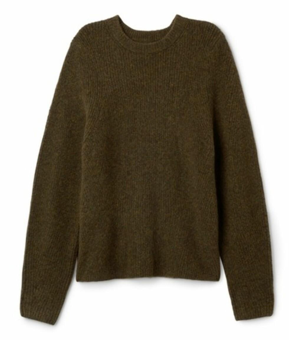 Genser fra Weekday, ca. kr 560. | | http://shop.weekday.com/gb/Womens_shop/Knitwear/Betty_Sweater/542442-8918346.1#c-125422