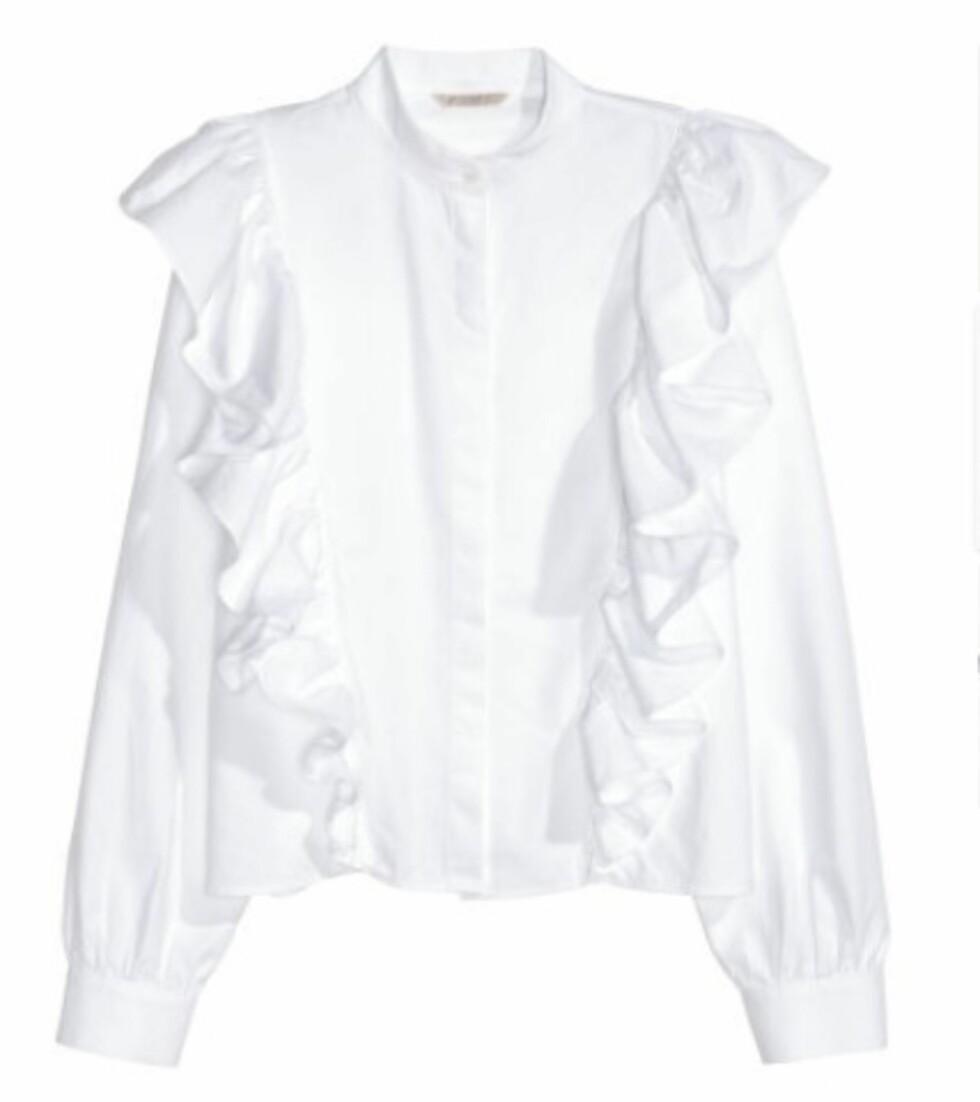 Bluse fra H&M, kr 399. | | http://www.hm.com/no/product/55661?article=55661-B