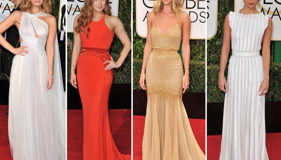 Golden Globes best kledde: - Kjolen sitter som støpt på henne, veldig sexy!