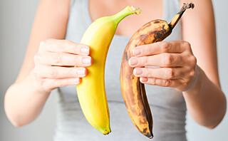Banan er sunt og inneholder viktige næringsstoffer!
