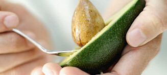 Ta en halv avokado med lunsjen