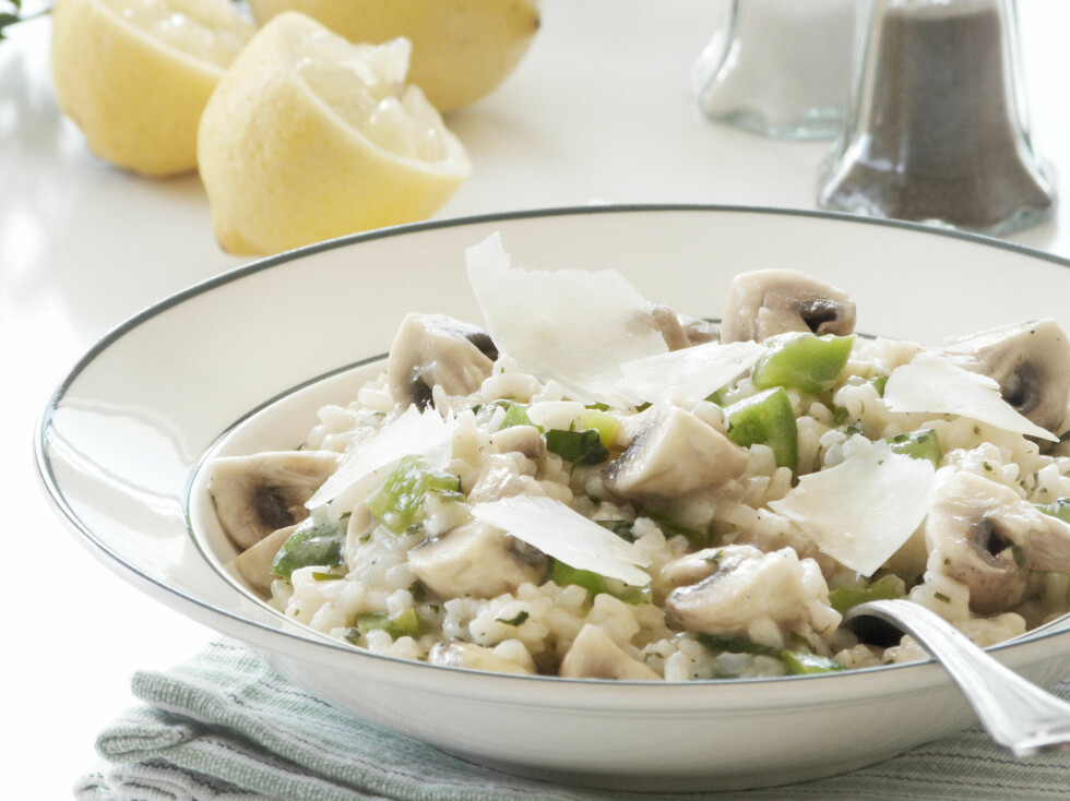 Ifølge Jamie Oliver er denne risottoen litt av en nytelse. Foto: colourbox.com