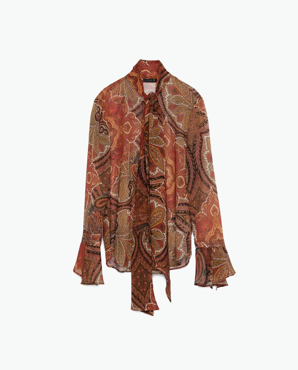 Bluse fra Zara, kr 559. Foto: Produsenten