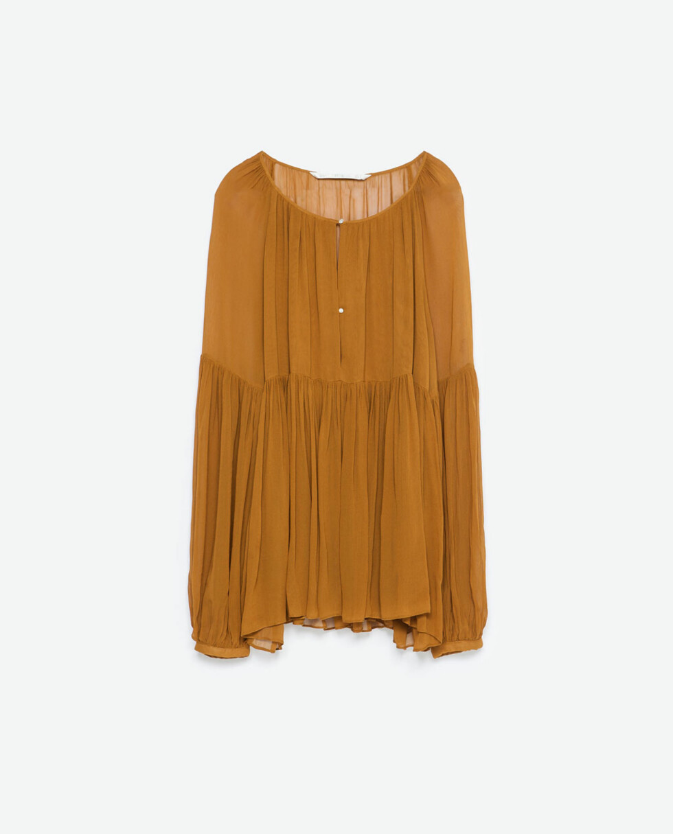 Bluse fra Zara, kr 299. Foto: Produsenten