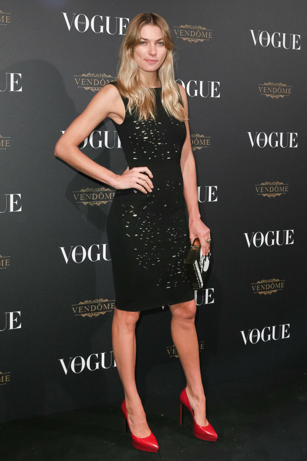<strong>VOGUE:</strong> Jessica Hart (29). Foto: SipaUSA
