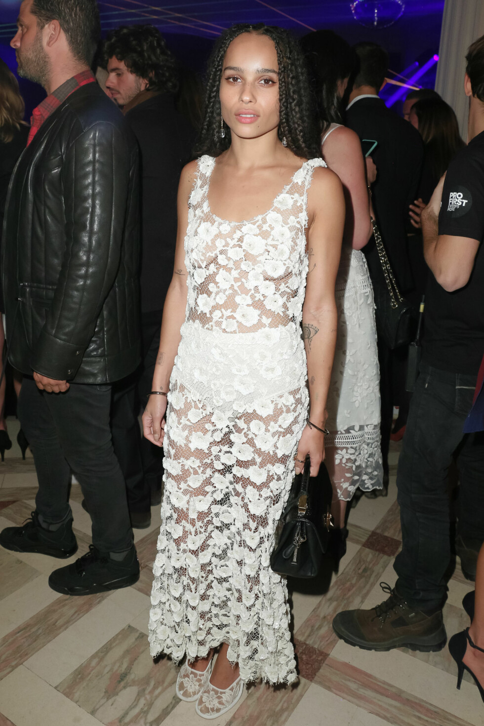 <strong>VOGUE:</strong> Zoe Kravitz (26). Foto: SipaUSA