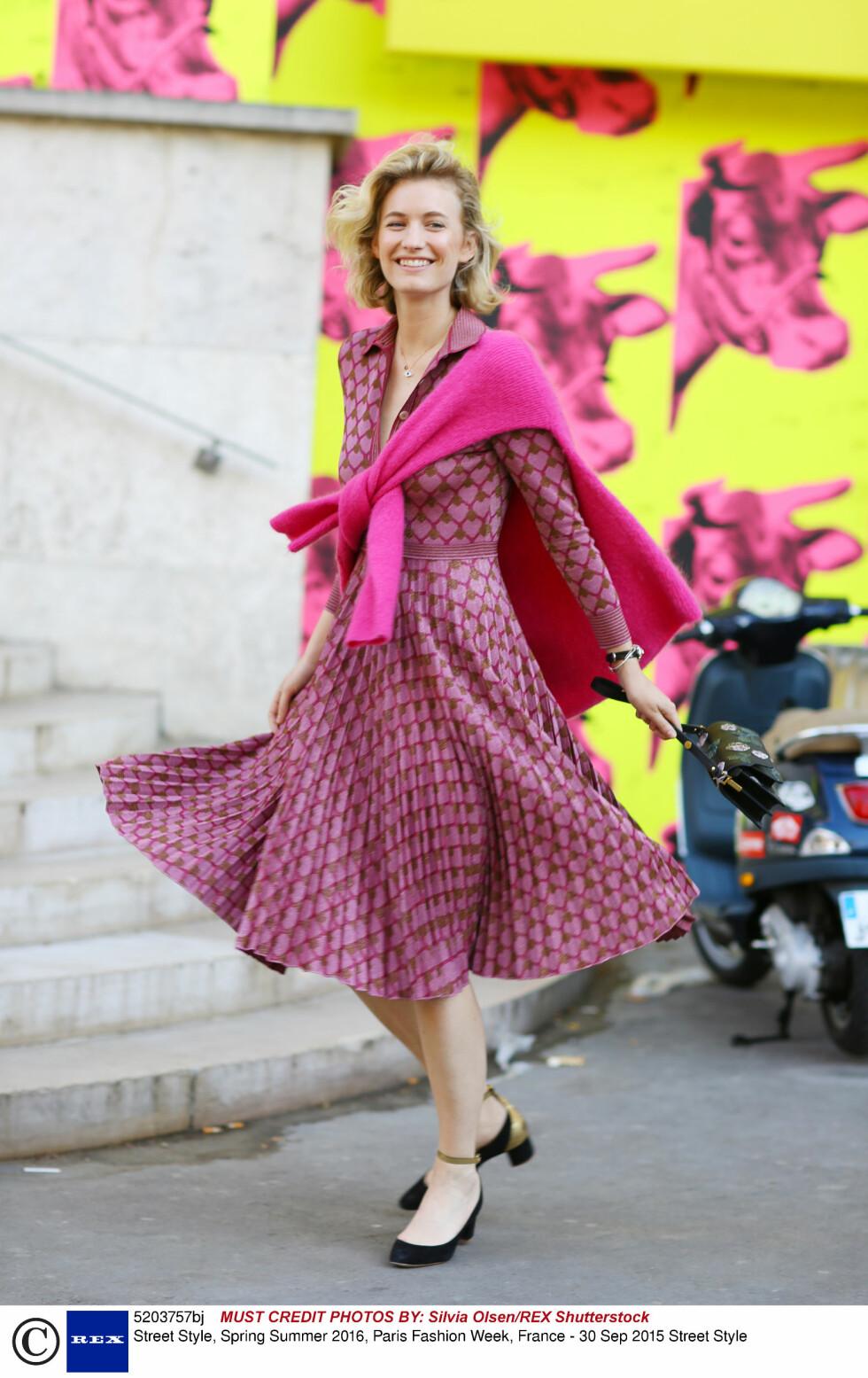 Paris Fashion Week. Foto: Rex Features
