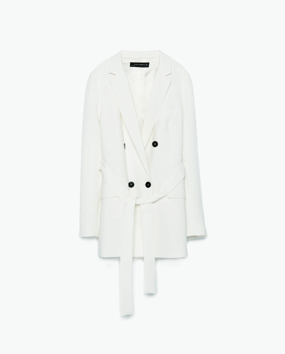 Jakke fra Zara, kr 499. Foto: Produsenten