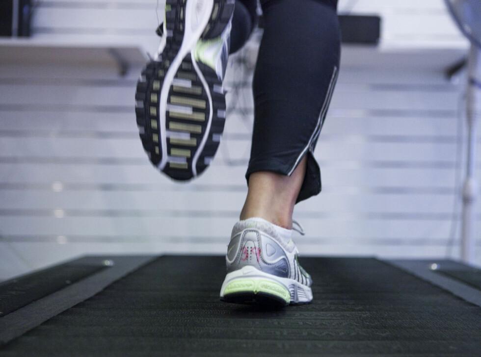 PULSTEST: Går det fremover? Test deg selv ved å følge med på hvor raskt pulsen din synker når du senker intensiteten på treningen. Etter hvert som formen blir bedre, skal den gå ned raskere.  Foto: Fotolia
