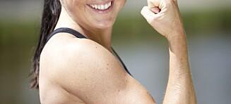 Så fort forsvinner musklene