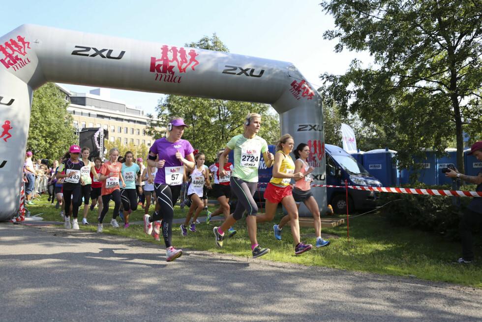 Alt om den store løpefesten - 5 km
