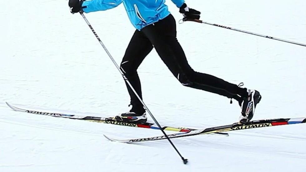 <strong>UT PÅ TUR:</strong> Det er viktig at du gjør i stand skiene dine før du legger ut på årets første langrennstur. Tips ti hvordan du gjør dette, får du lenger ned i saken! Foto: Per Ervland