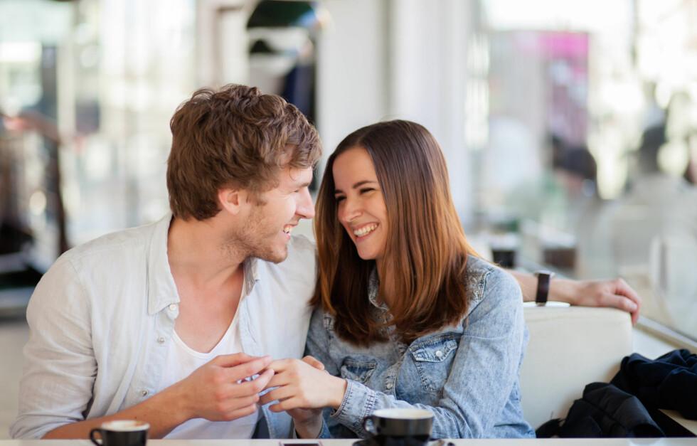 FØRSTE DATE: Ekspertene mener du gjør lurt i å avslutte daten allerede etter en liten time.  Foto: berc - Fotolia