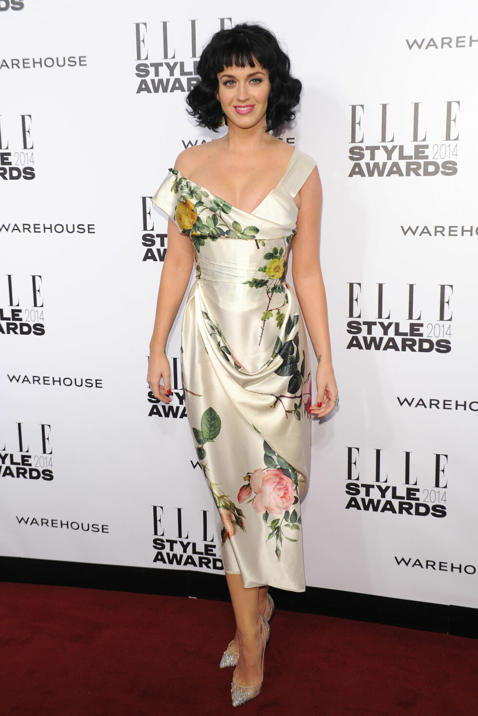 Katy Perry attending the Elle Style Awards 2014.  Held at One Embankment, London, on Tuesday February 18, 2014                      Katy Perry         All Over Press Foto: Retna/Photoshot/All Over Press