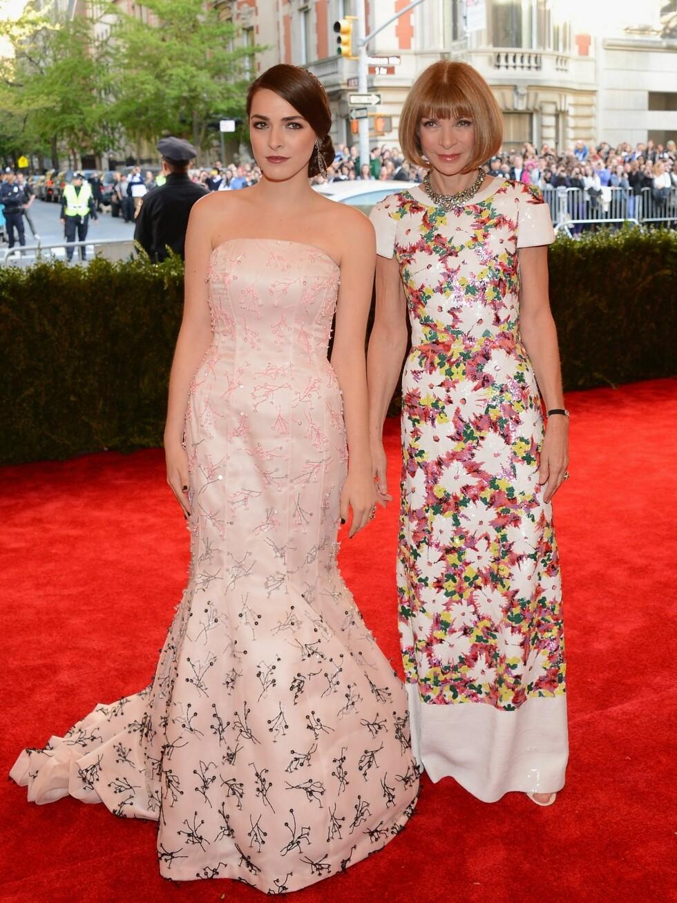 Anna Wintour og datteren Bee Shaffer Foto: All Over Press