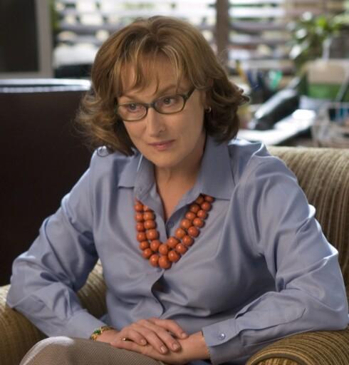 Meryl Streep briljerer som vanlig. Vi digger Meryl. Foto: Nordisk Film