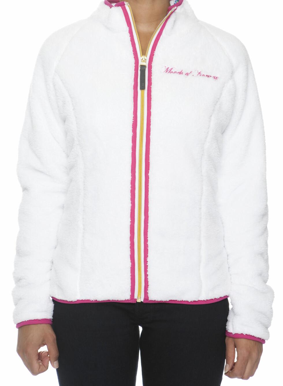 Behagelig fleece-genser med glidelås - 999 kroner.  Foto: Produsenten