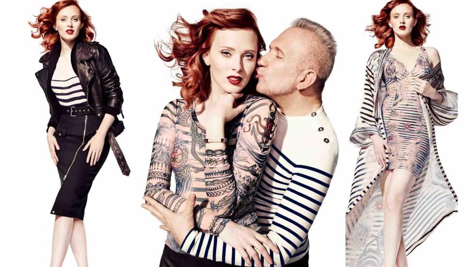 I BUTIKK SNART: 8. oktober lanseres Jean Paul Gaultiers designsamarbeid med Lindex i butikk og på nett.  Foto: Lindex