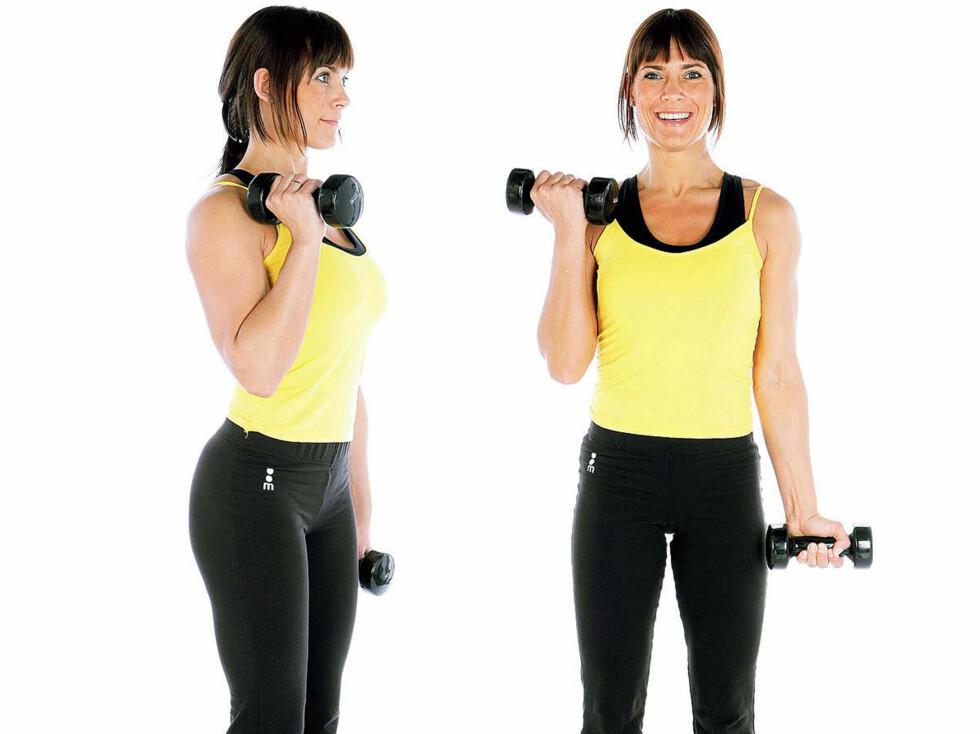 Tren triceps - unngå grevinneheng