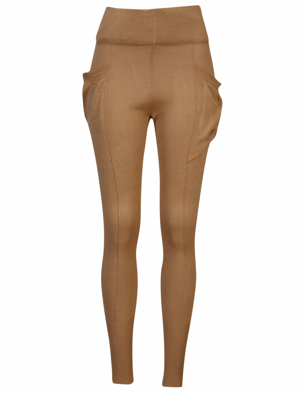 Kamelfarget leggings (kr.249). Foto: Produsenten
