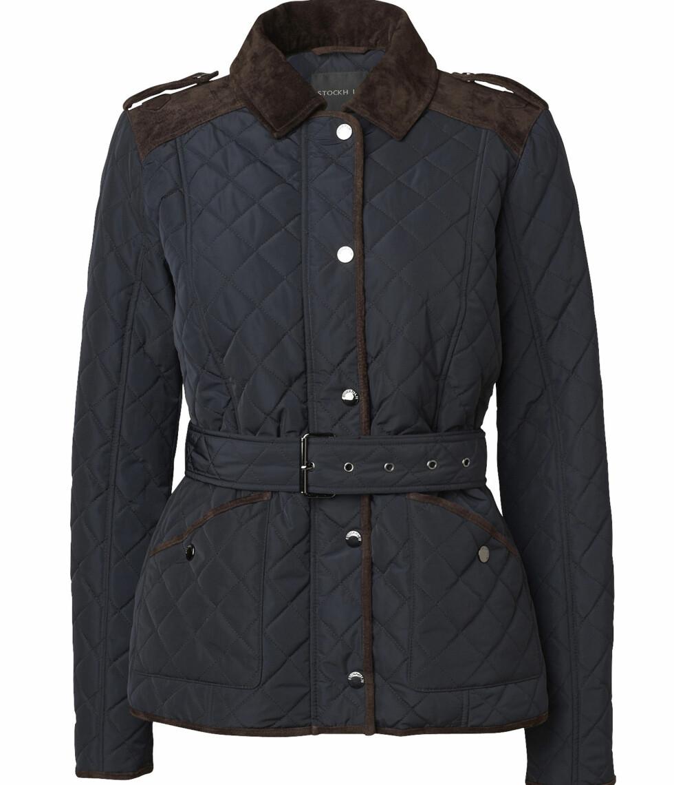 Quiletet jakke (kr 1300, MQ). Foto: Produsenten