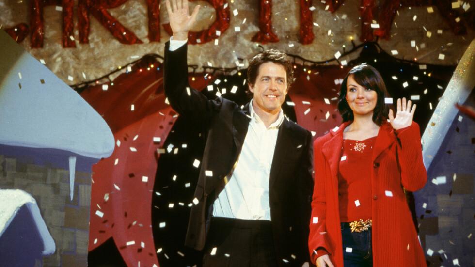 LOVE ACTUALLY: Er en av tidenes mest suksessfulle romantiske komedier - lansert i 2003. Nå har oppfølgeren laget for Red Nose Day endelig kommet, og du kan se den på nett! Foto: SipaUSA