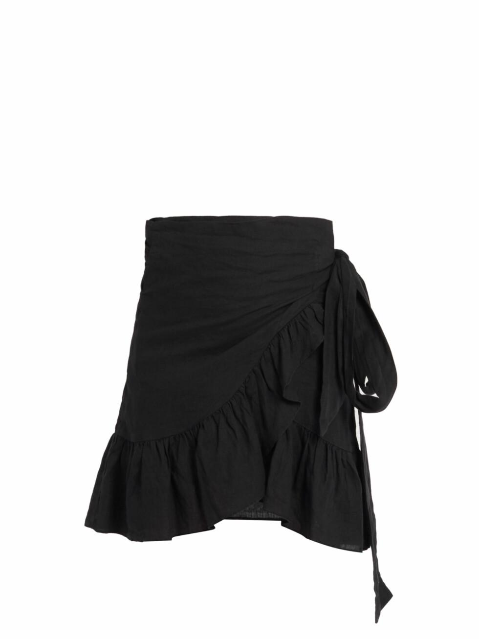 Skjørt fra Isabel Marant via Matchesfashion.com | kr 1720 | http://www.matchesfashion.com/intl/products/Isabel-Marant-%C3%89toile-Dempster-ruffled-mini-skirt-1073783