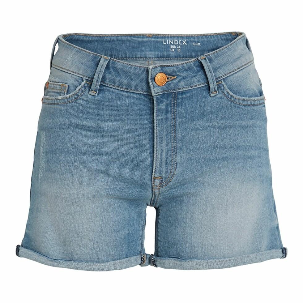 Shorts fra Lindex | kr 299 | https://www.lindex.com/no/dame/underdeler/shorts/7549425/Slim-Denim-Shorts/