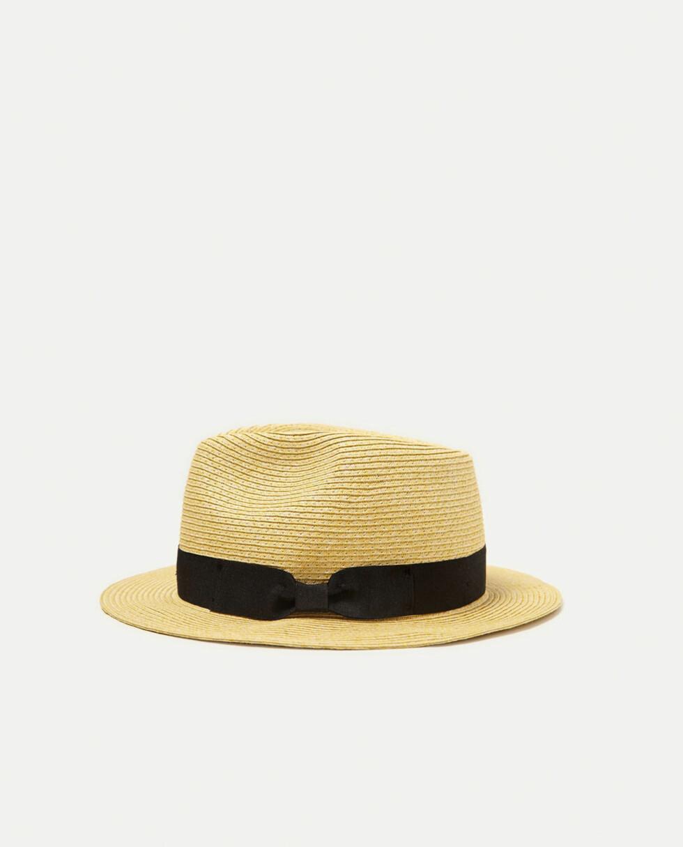Hatt fra Zara | kr 169 | https://www.zara.com/no/no/herre/tilbeh%C3%B8r/caps-og-hatter/str%C3%A5hatt-c358072p4700013.html