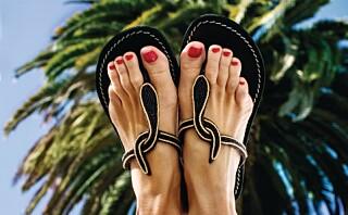 Sandalklare føtter – trinn for trinn!