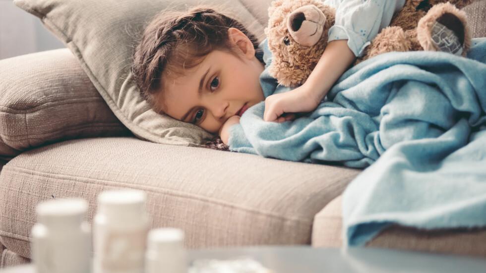 ANTIBIOTIKA: Mer enn 80 prosent av antibiotikaen som forskrives til småbarn er ofte helt unødvendig. FOTO: NTB Scanpix
