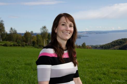 IKKE LENGER LIKE NERVØS: Anita Hager har deltatt på talekurs, og opplevde at det var til stor hjelp. Foto: Foto: Privat