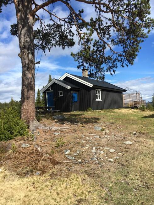 HYTTEIDYLL: i Gausdal ligger hytta Hege låner ut gratis i flere uker.