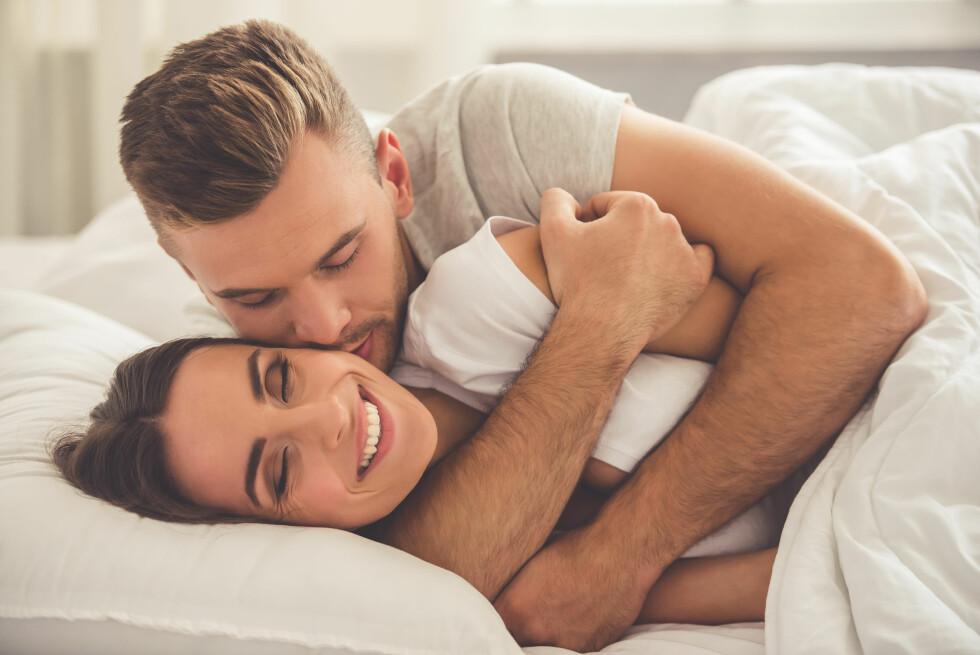 KJÆRTEGN: En stor samlestudie har vist at regelmessig sex fremmer velvære og har langsiktige relasjonsfordeler. Foto: VGstockstudio / Shutterstock / NTB scanpix
