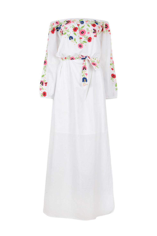 Kjole fra Pampelone | kr 1800 | https://pampelone.com/product/evissa-maxi/