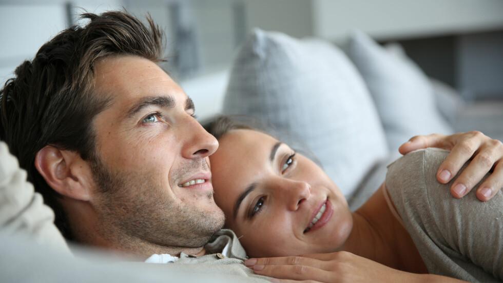 PARFORHOLD: Det finnes syv ting som kjennetegner lykkelige par.  Foto: NTB scanpix