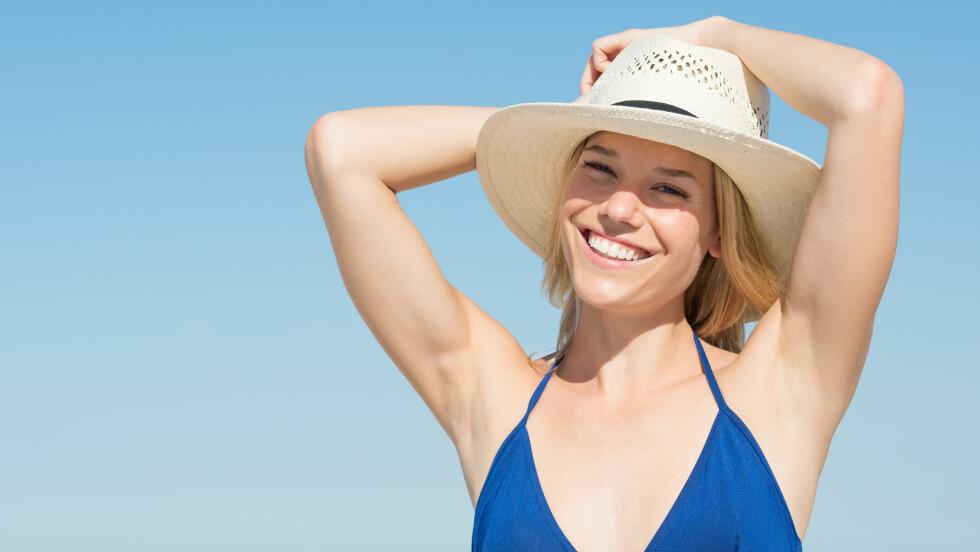 SOLE SEG: Blir du ikke brun uansett hvor hardt du prøver? Da bør du heller ikke ligge i sola og steke.  Foto: NTB Scanpix