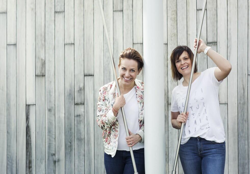 MOTIVERTE: Janne og Hilde har blitt hverandres mentorer og backer hverandre opp. Foto: Astrid Waller