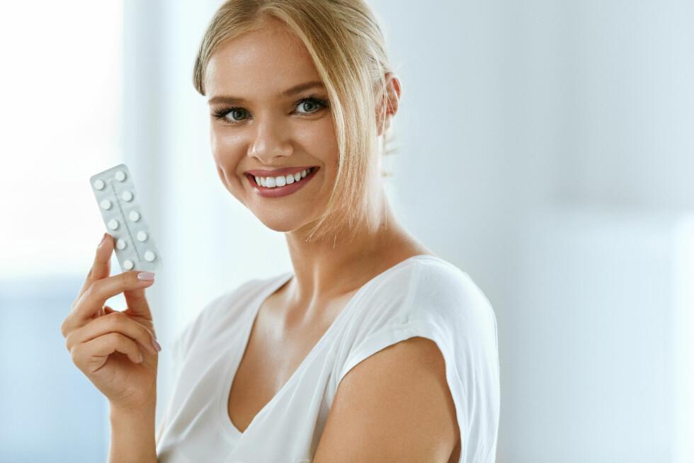 P-PILLER: Ja, du kan utsette mensen når du går på p-piller. Foto: NTB scanpix