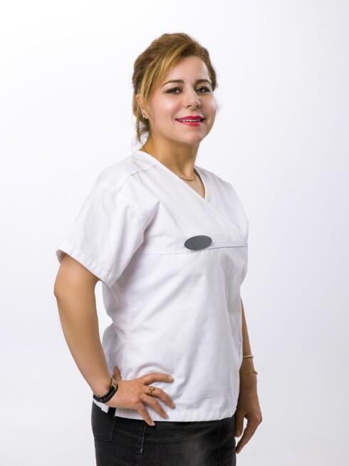 SYKEPLEIER: Rosa Karlsen er kosmetisk sykepleier og daglig leder ved Bodyfly Frogner.   Foto: Peder Klingwall - VizPro AS for Bodyfly Frogner