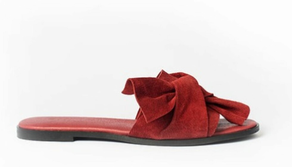 Sandaler fra Since Oslo | kr 1950 | https://www.sinceoslo.com/product-page/sandy-slip-ins-ox-blod