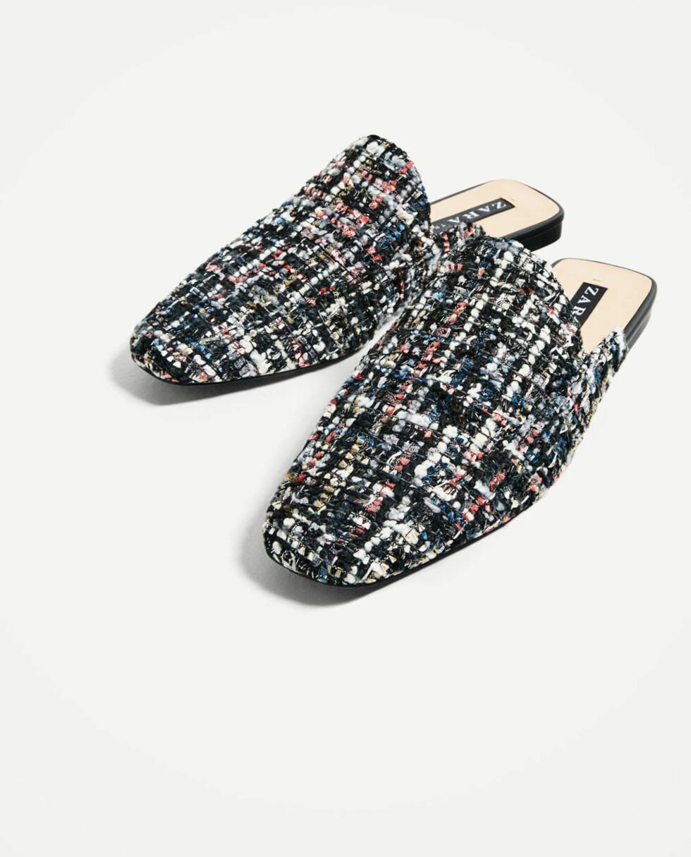 Sandaler fra Zara | kr 349 | https://www.zara.com/no/no/trf/sko/sandal-med-%C3%A5pen-h%C3%A6l-i-stoff-c358035p4081566.html