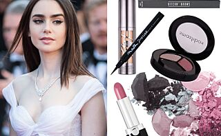Stjel Lily Collins' Cannes-look