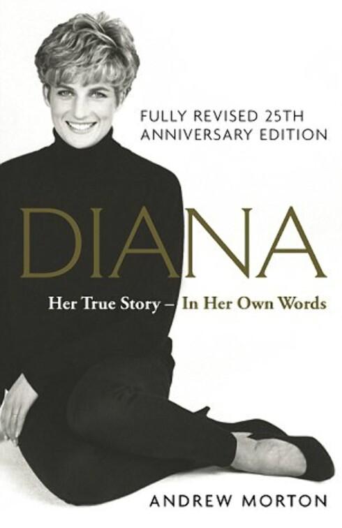 NYE DETALJER: 25 år etter at biografien om prinsesse Diana kom - ført i pennen av forfatter Andrew Morton - kommer en republikasjon med nye detaljer fra private opptak med prinsesse Diana gjort i 1991. Foto: Faksimile