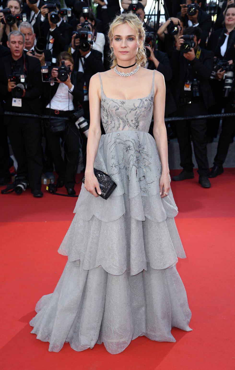 Diane Kruger i Louis Vuitton Foto: Pa Photos