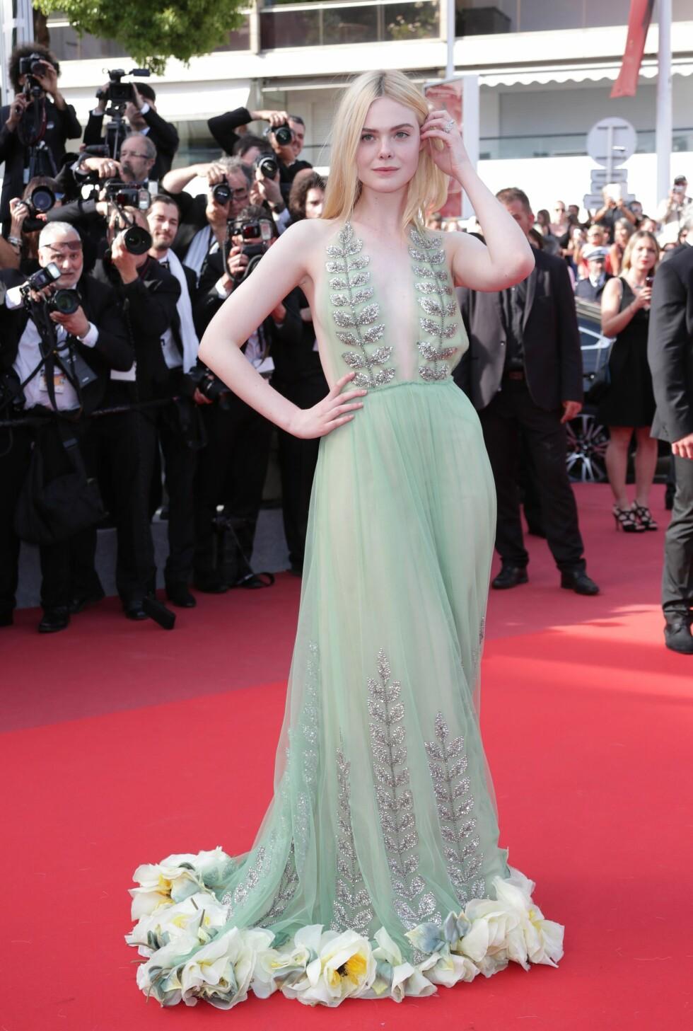 Elle Fanning i Gucci Foto: Shutterstock