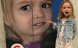 Chloe ble en internettsensasjon for sin noe spesielle reaksjon på familieturen til Disneyland