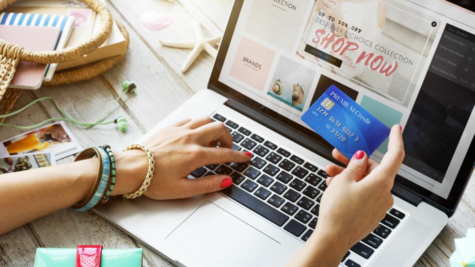 Bruker du rabattkoder når du handler på nettet kan du spare tusenlapper. Foto: Scanpix