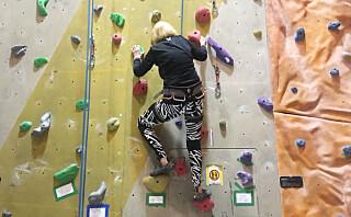 Vi oppfylte klatredrømmen til den supersporty dama Reidun (87)