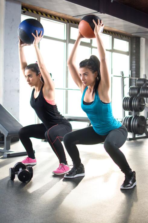 HUSK STYRKETRENINGEN: Ekspertene er enige i at styrketrening er svært viktig. Også om du trener til et lengre løp.   Foto: NTB scanpix